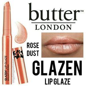Butter London Glazen Lip Glaze - Rose Dust